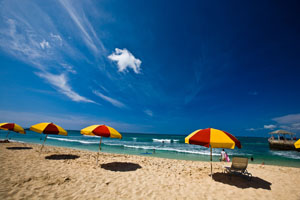 Beach Umbrellas on Maui