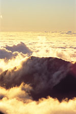 Haleakala Crater - Above the Clouds