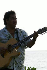 Wedding Guitar Player on Maui