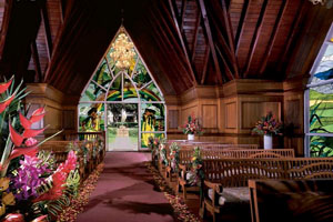 Grand Wailea Resort Chapel Interior